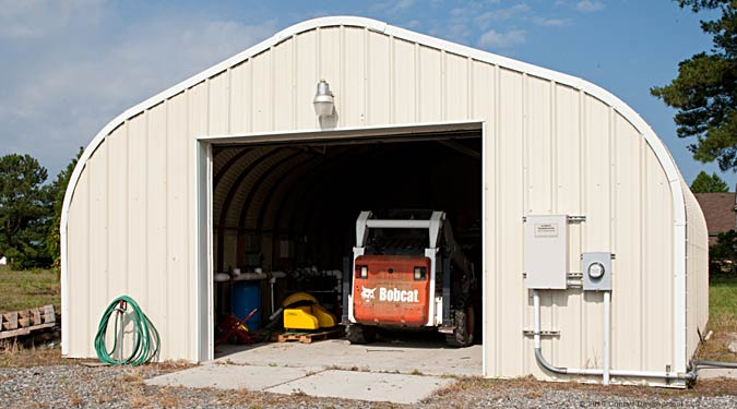 Large Vehicle Garage